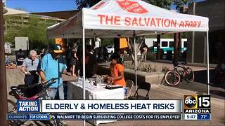 Salvation Army provides water, air-conditioning on extreme heat days - Video