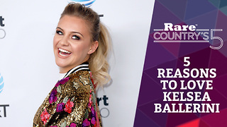 Five Reasons to Love Kelsea Ballerini | Rare Country's 5 - Video