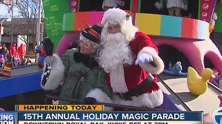 Holiday Magic Parade - Video