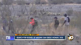 Search for bodies of missing San Diego woman and dog - Video