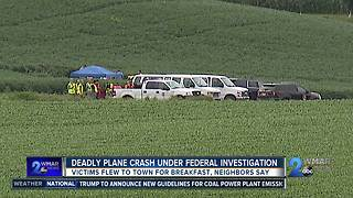 Two victims that were killed in the Westminster small plane crash are identified