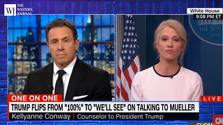 Kellyanne Conway Tells CNN She'll Never Mention Hillary on Show Again... on 1 Condition (C) - Video