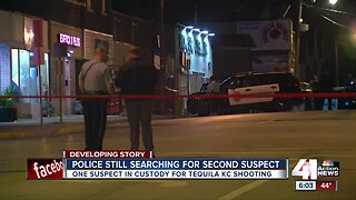 Search continues for KCK bar shooting suspect still on the loose