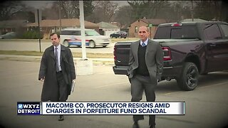 Macomb County Prosecutor Eric Smith resigning amid charges in forfeiture fund scandal