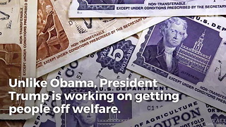 Trump Takes Aim at Welfare State - Video