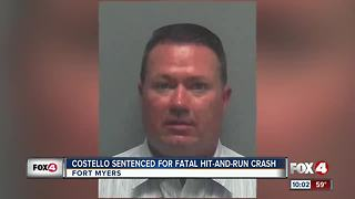 Costello sentenced for fatal hit-and-run crash - Video
