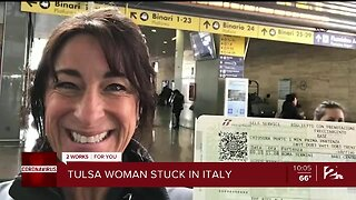 Tulsa Woman Stuck in Italy