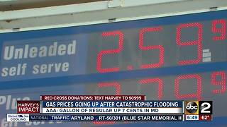 Maryland gas prices rising in Harvey's aftermath - Video