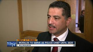 Commission appoints Interim Chief Alfonso Morales to chief until 2020 - Video