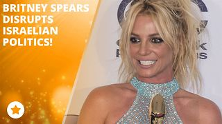 Britney Spears brings foreign politics to a halt - Video