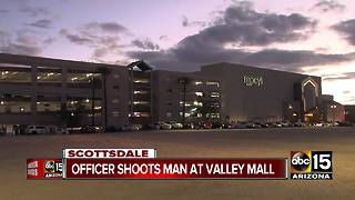 Officer-involved shooting at Fashion Square Mall in Scottsdale - Video