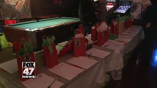 Local man holds Christmas event to help foster kids - Video