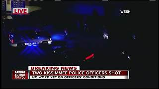 2 Kissimmee officers shot to death in Osceola Co., officials say - Video