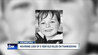 Funeral arrangements announced for child hit and killed in Hamburg