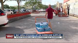 Florida residents stock up on hurricane supplies - Video