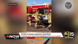 UPDATE: Authorities release name of woman killed in PHX explosion