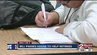 Bill passes house to help retirees