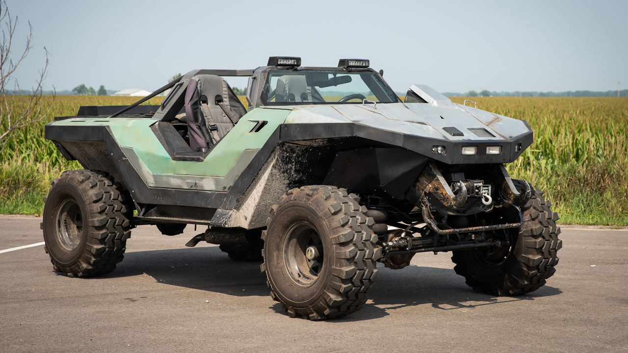Real Life Halo Vehicles: Halo Fan Builds A Real Life Warthog
