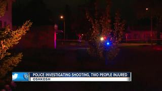 Two injured in Oshkosh shooting - Video