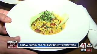 Cook for Courage benefit competition this weekend - Video