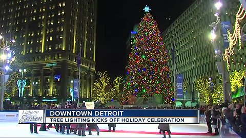 Light up the Season at the 2018 Detroit tree lighting ceremony