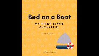 Piano Adventures Lesson Book A - Bed on a Boat