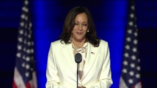 """""""You ushered in a new day for America"""": Vice President-elect Kamala Harris thanks voters"""