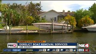 Derelict boat removal services - Video