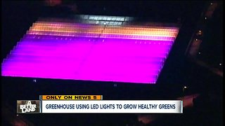 Where that weird purple light in CLE comes from