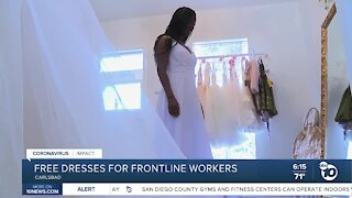 Free dresses for frontline workers