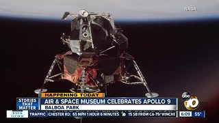 San Diego celebrates 50th anniversary of Apollo 9 mission