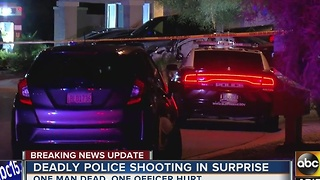 Police ID man killed by a Surprise police officer - Video