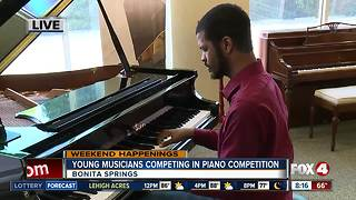 Aspiring musicians compete in Young Artist Piano Competition - Video