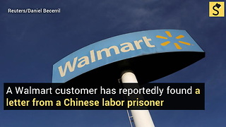 Arizona Woman Reportedly Discovers Hidden Note from Chinese Prison Laborer?