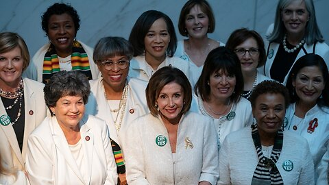 Democratic honor suffragette movement by wearing white to State of the Union address