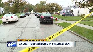 Ex-boyfriend of woman found stabbed to death in front yard of Cleveland home arrested after standoff