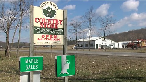 Merle Maple Farm ready for Maple Weekend in Wyoming County
