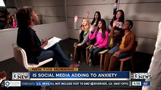 Is social media causing more anxiety?