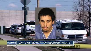 Day 2 of search for escaped inmate - Video
