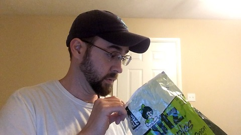 What he discovers in a potato chip bag will shock you!