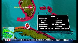 Hurricane Irma - Saturday 10 pm update - Video