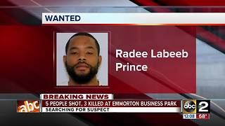 Suspect in Emmorton Business Park shooting identified - Video