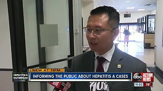 Informing the public about Hepatitis A cases