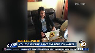 College students adjust to online job interviews