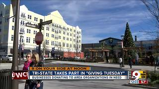 Greater Cincinnati takes part in Giving Tuesday - Video