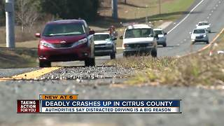 Deadly crashes up in Citrus County