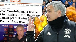 REVEALED: Jose Mourinho Brutally TROLLS Chelsea Fans! | #VFN - Video