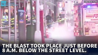 Lower Manhattan Explosion Shakes New York City Residents - Video
