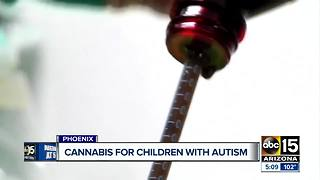 Cannabis for children with autism