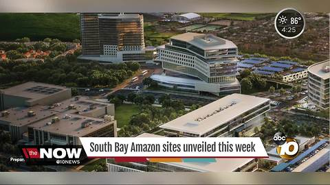 South Bay Amazon sites unveiled this week